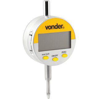 Relógio comparador digital 0,01 mm RD 010 VONDER