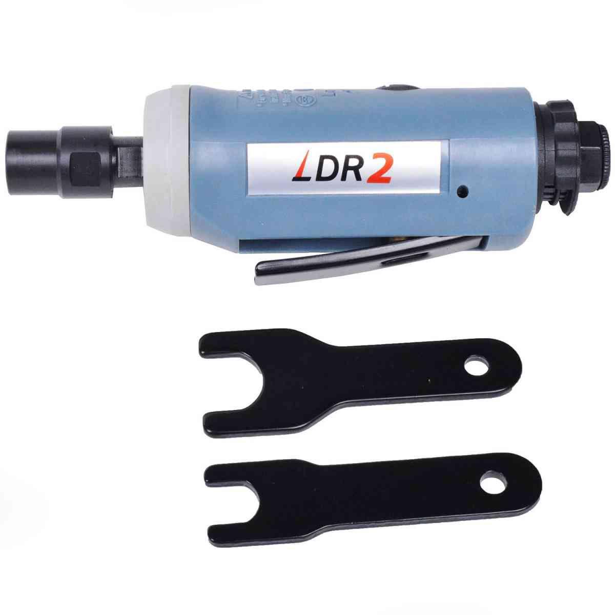 """RETIFICA PNEUMATICA MINI 1/4"""" 0,3HP 25.000RPM DR3-4824 LDR2"""