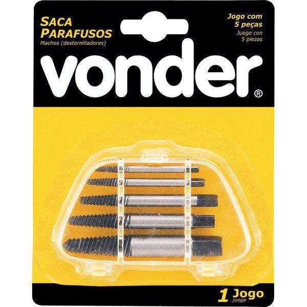 Saca Parafuso Quebrado Aço Carbono 1/8 a 3/4 - Vonder