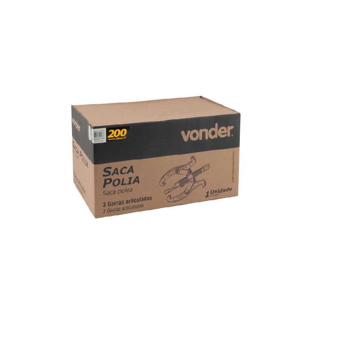 Saca-polia com 3 garras 200mm VONDER