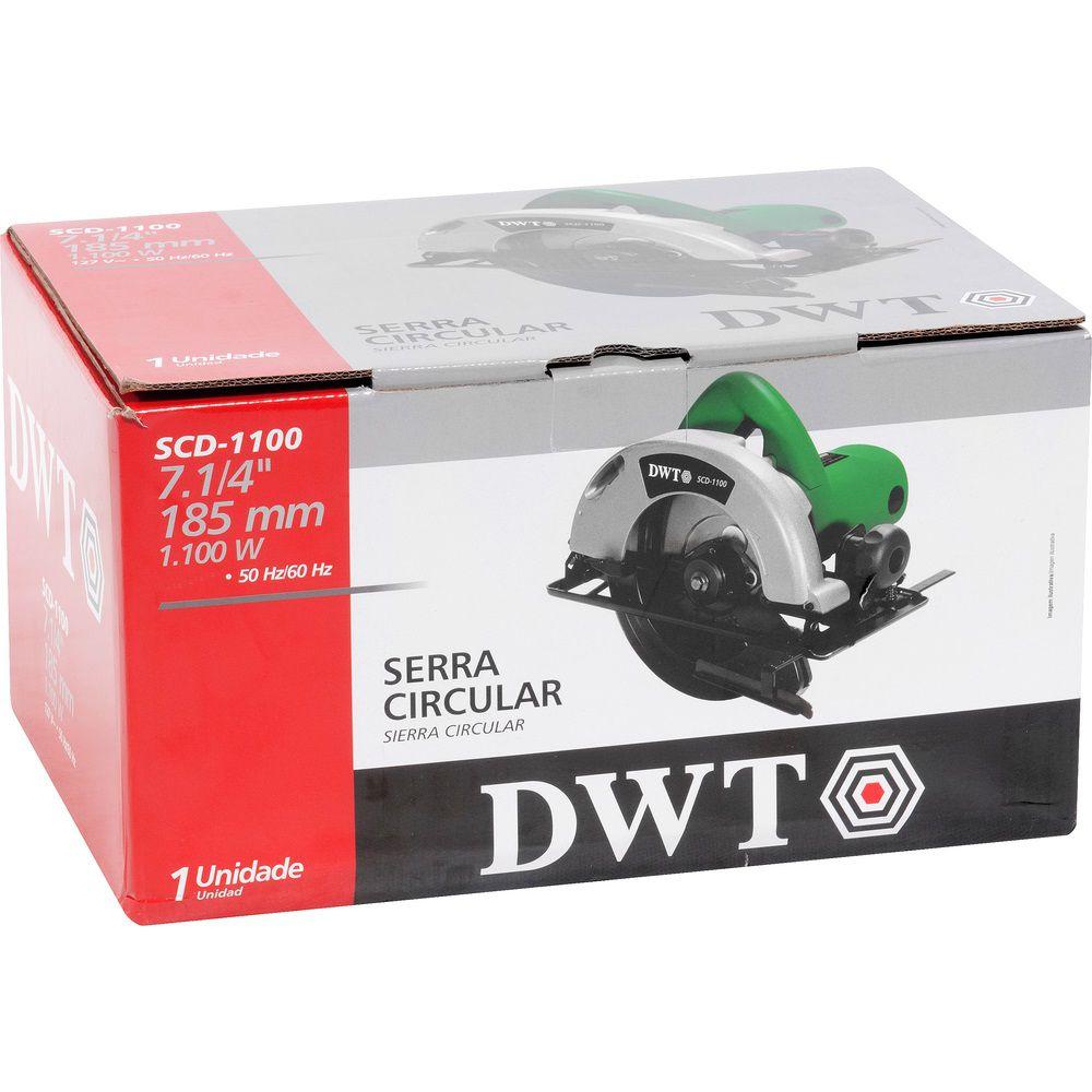 """Serra Circular 1100W 7.1/4"""" SCD1100 220V DWT"""