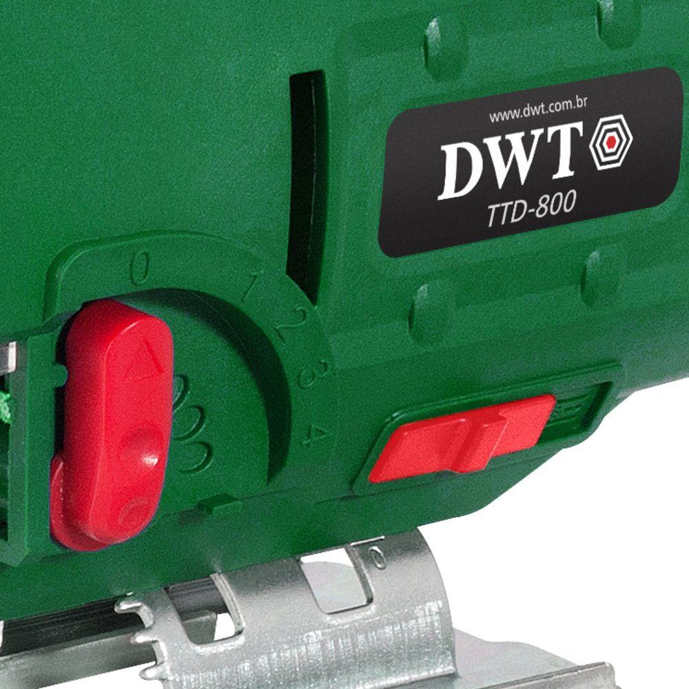 Serra Tico Tico 800W TTD800 220V DWT