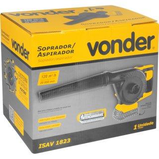 Soprador/aspirador intercambiável 18V s/bateria e carregador ISAV 1823