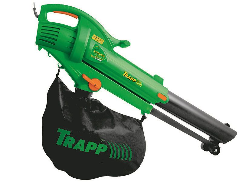 Soprador Aspirador Triturador Folhas 3000w - Trapp