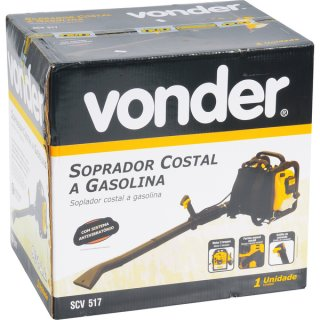 Soprador Costal a Gasolina SCV 517 VONDER