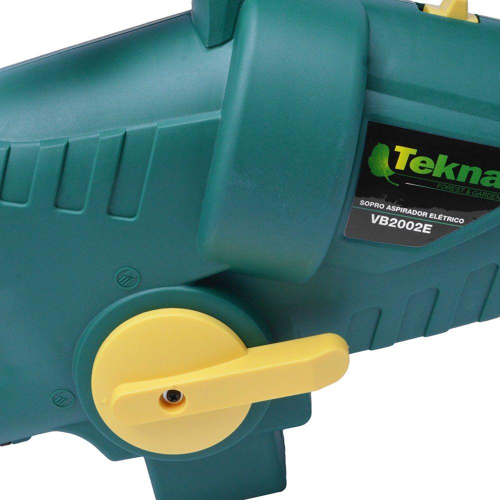 Soprador e aspirador de folhas 2000w - Tekna