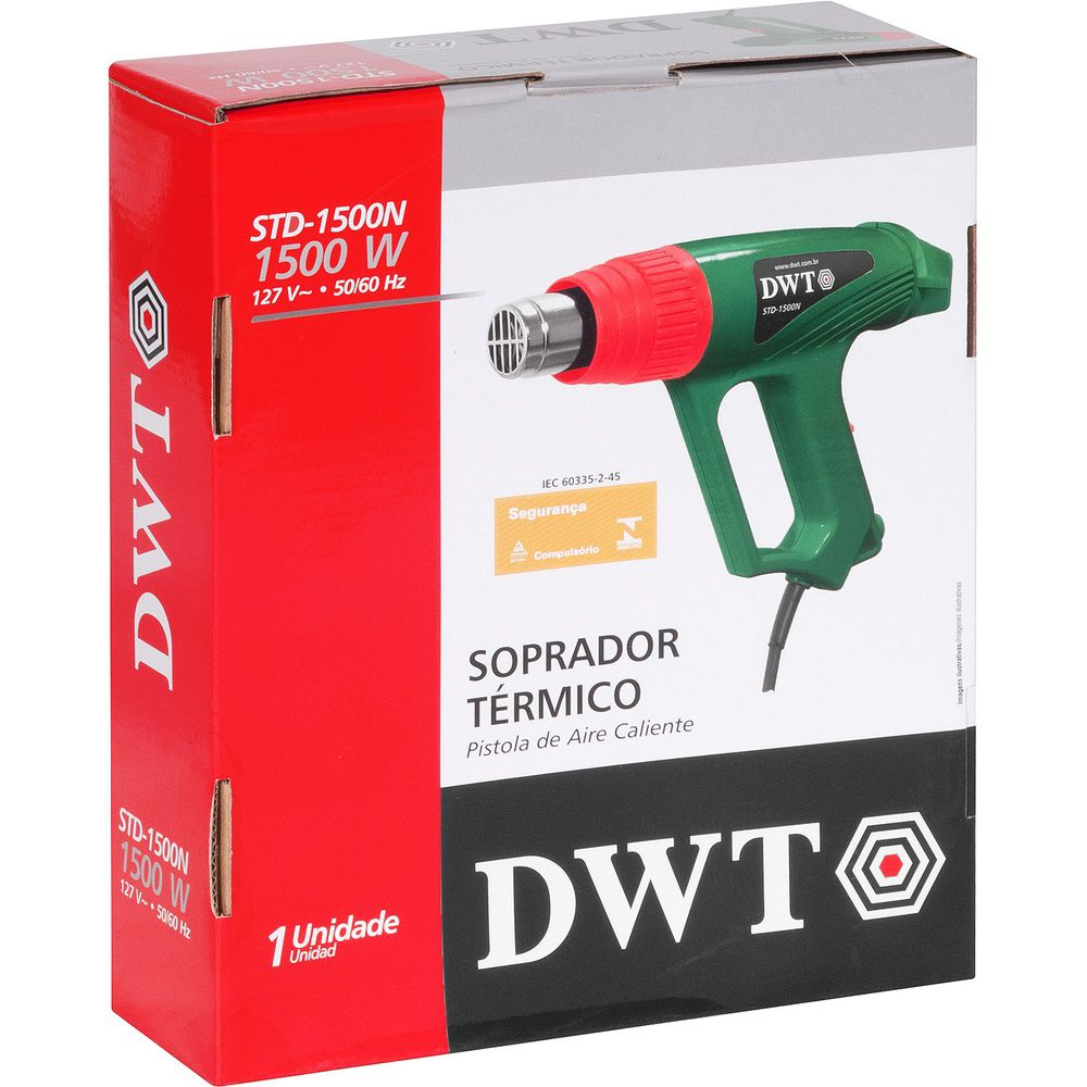 Soprador Térmico 2 Temperaturas 1500W STD1500N 220V DWT