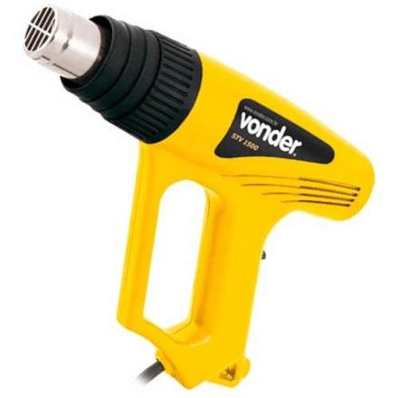 Soprador Térmico STV1500N Vonder 1500W Vonder Amarelo