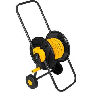 Suporte para mangueira com rodas,Sem mangueira Vonder