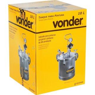 Tanque para pintura 10 litros Vonder