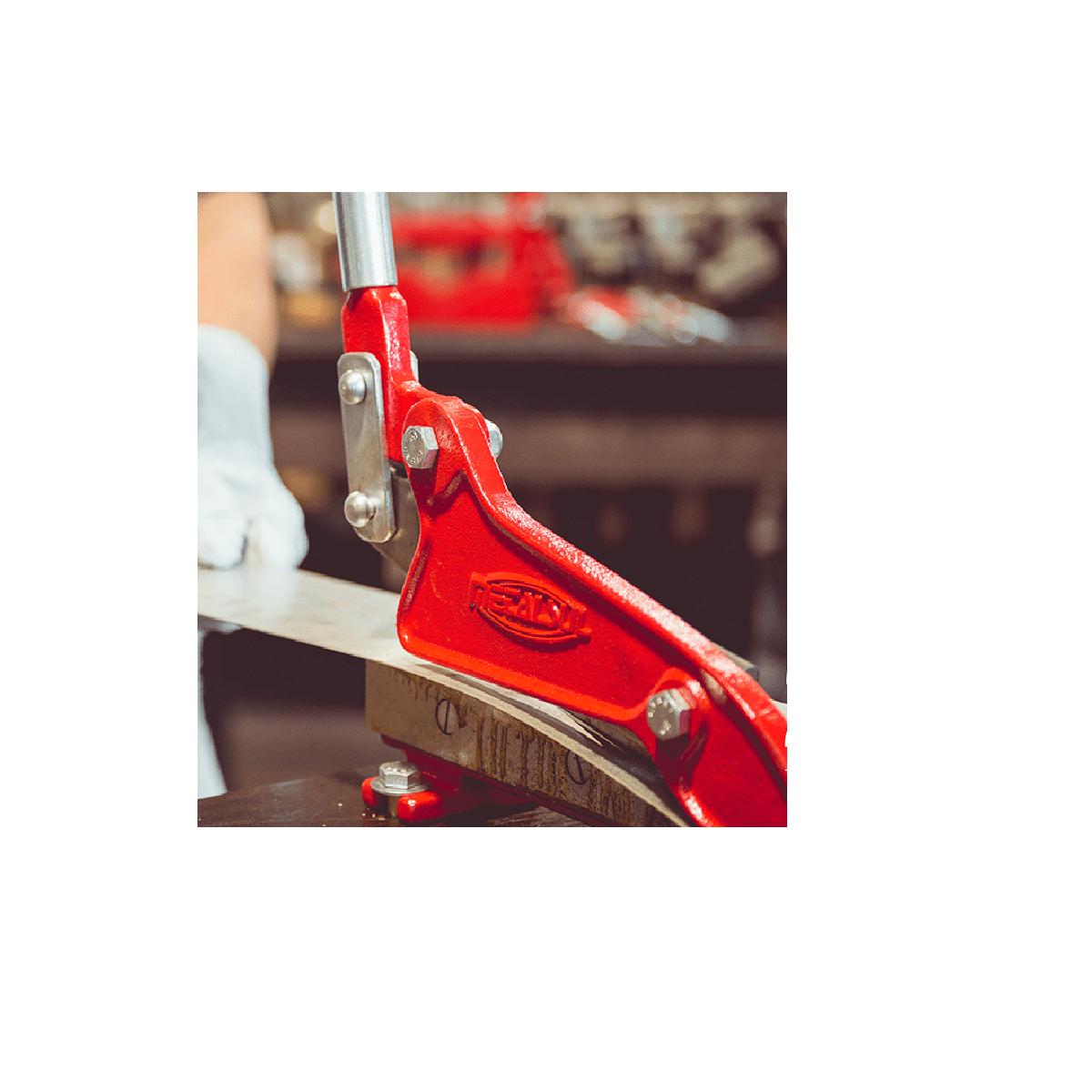 Tesoura Máquina de Cortar Chapa Nº4 - Metalsul