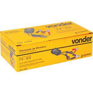 Testador de baterias TBV 1200 VONDER
