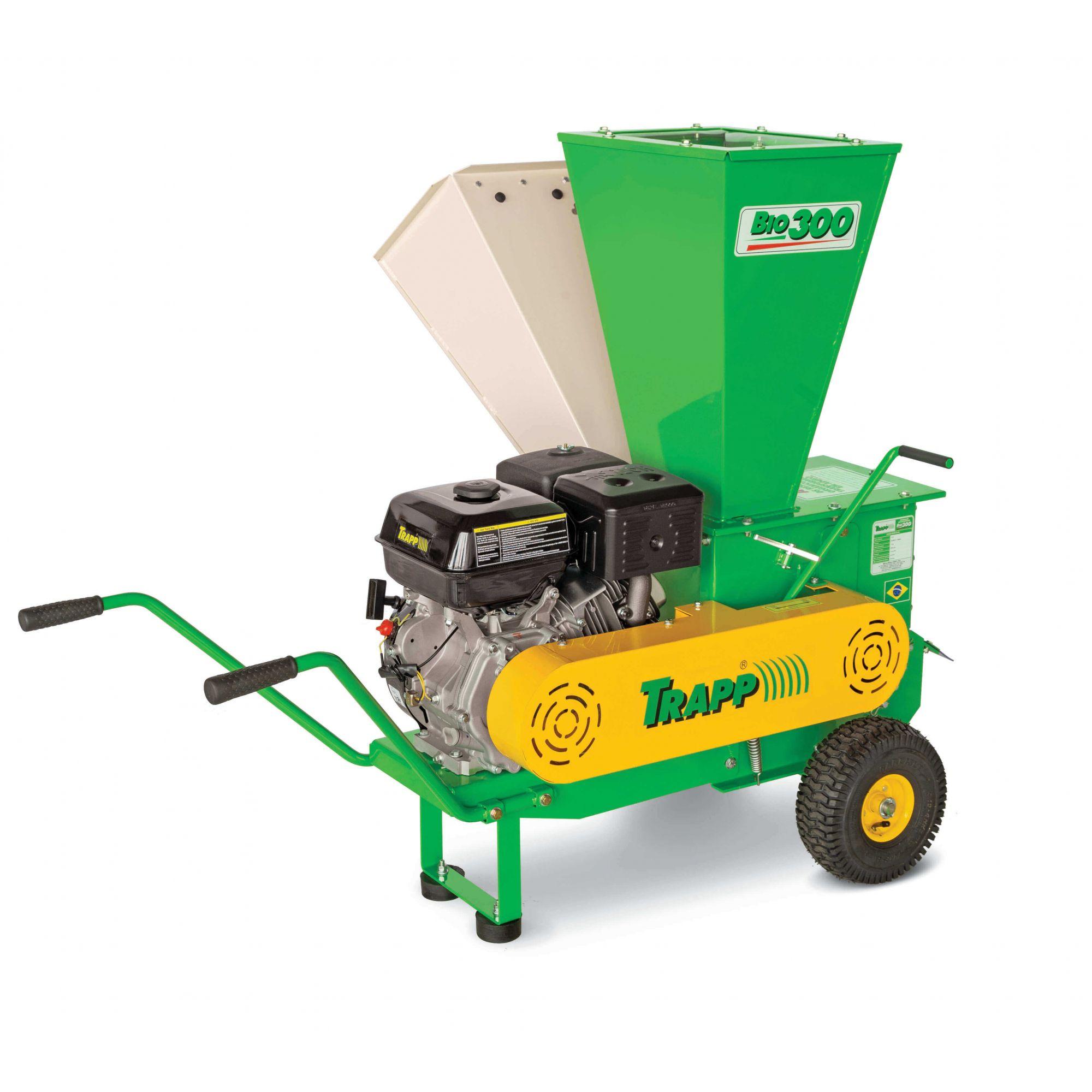 Triturador de Galhos/Resíduos Orgânicos a Gasolina 15HP BIO300 Trapp