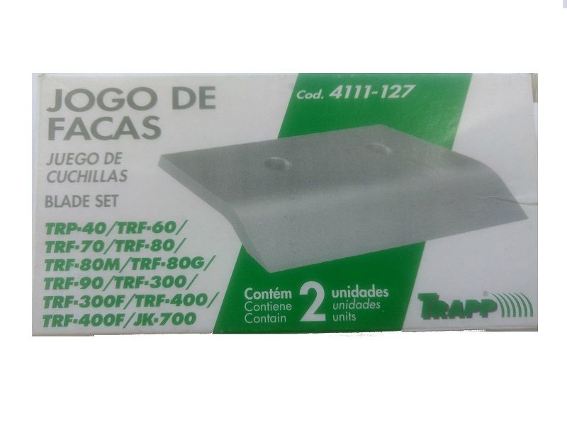 Triturador Forrageiro - TRF 400F 2cv Bivolt + Jogo de Facas Brinde Trapp