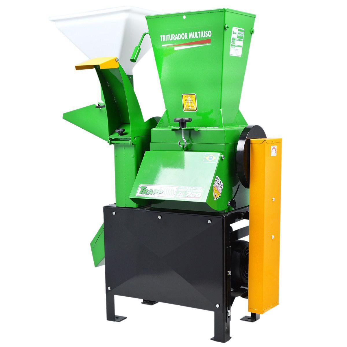 Triturador Picador Palmas JK 700 Monof. 2cv 220/127v - Trapp