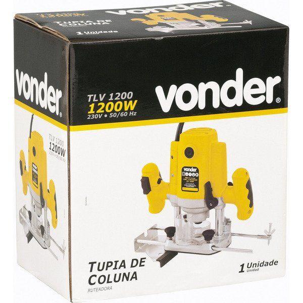 Tupia de Coluna 1200w Velocidade Variável - Vonder