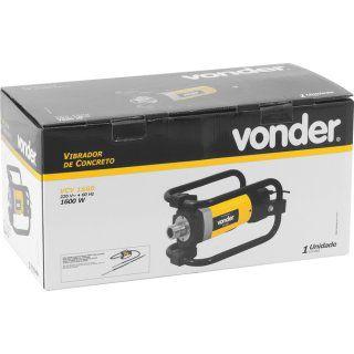 Vibrador de concreto VCV 1600 220V VONDER