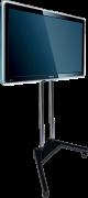 Locação Pedestal com Rodas para TV LCD, LED, Plasma, 3D de 19