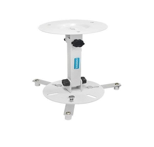 Suporte Universal De Teto Para Projetor Vg013-standard Branco Visograf