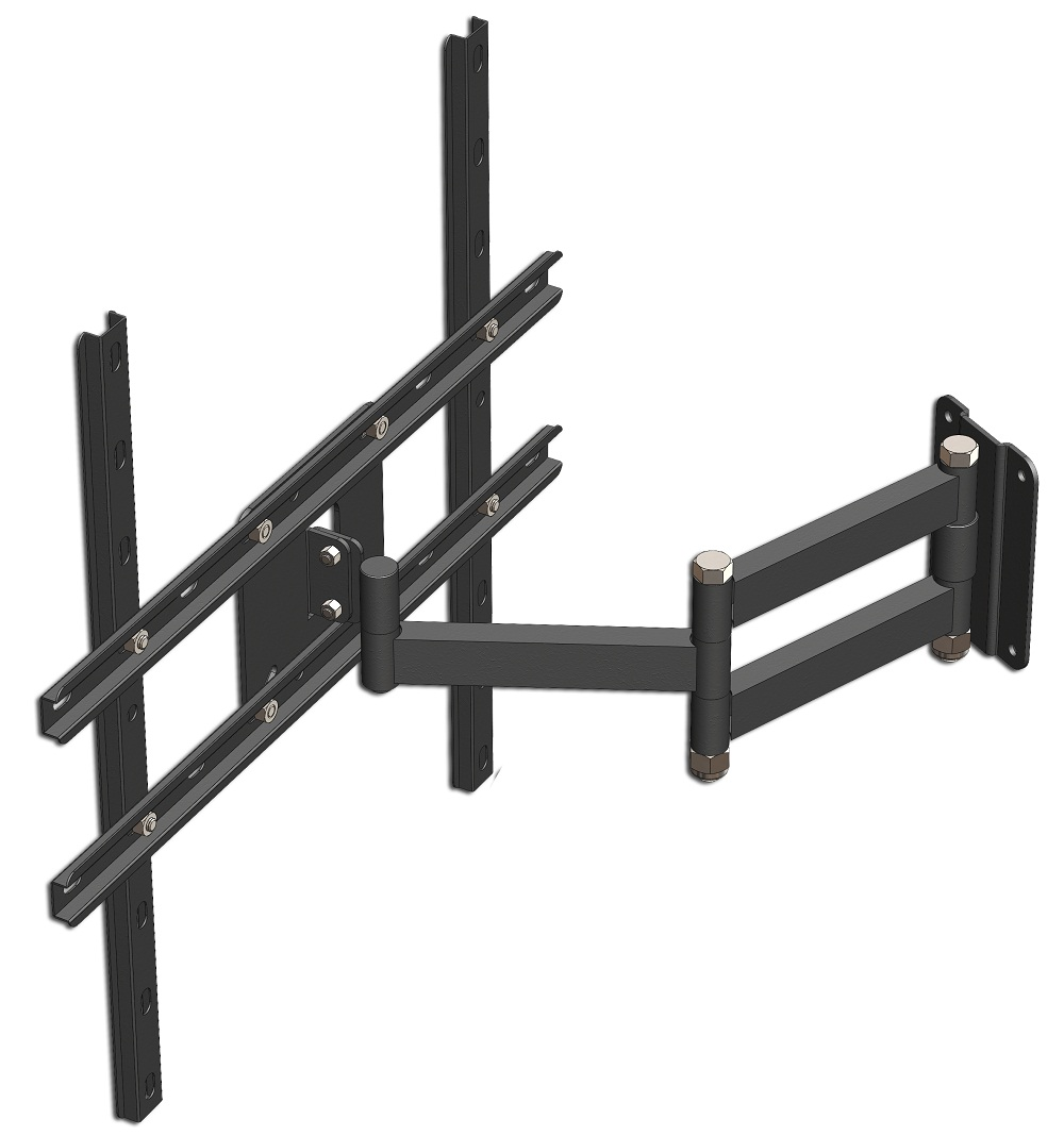 Suporte Tri Articulado para Tv Lcd / Plasma / Led / 3D de 10 a 55 Mfv-441 Multiforma