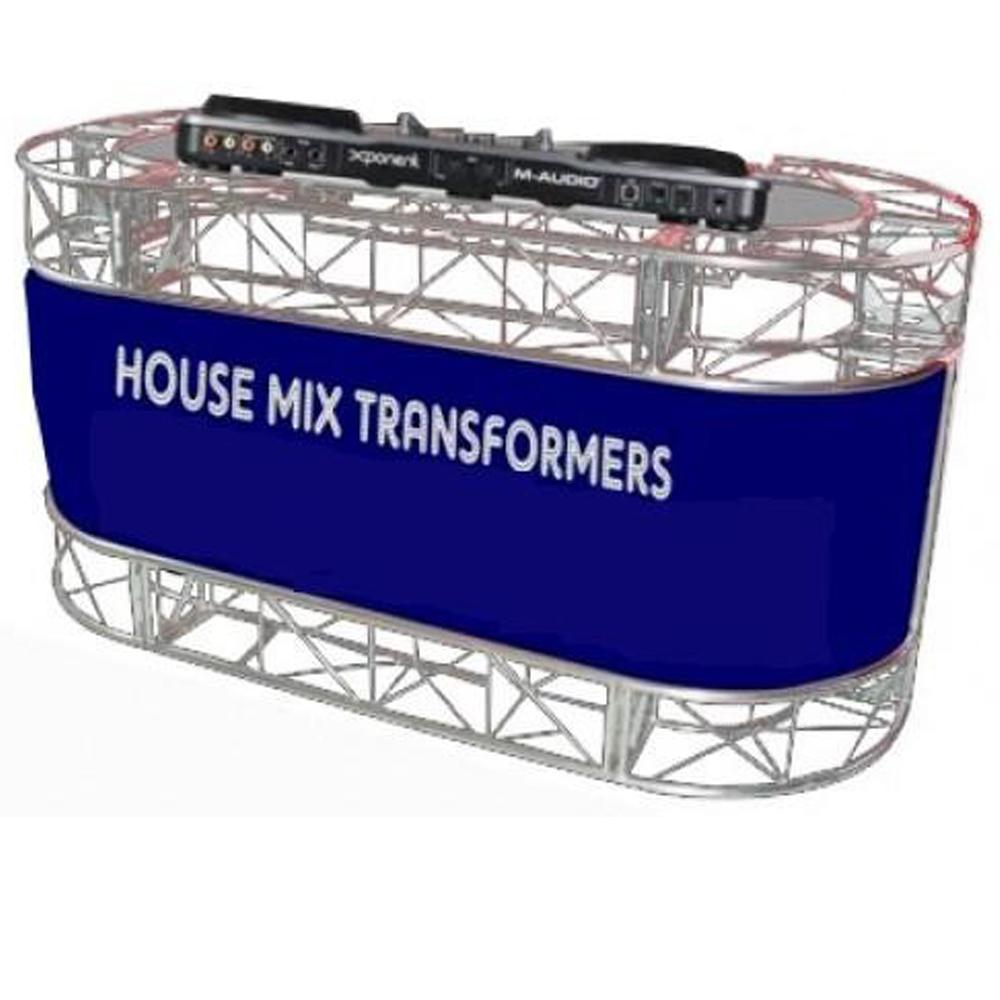 Mesa Box Truss Classica para DJ estrutura Q15 - Classica