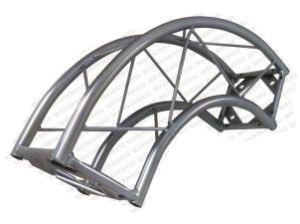 Estrutura Curva Q15, 90 Graus, Boxtruss, Aço Carbono Galvanizado.