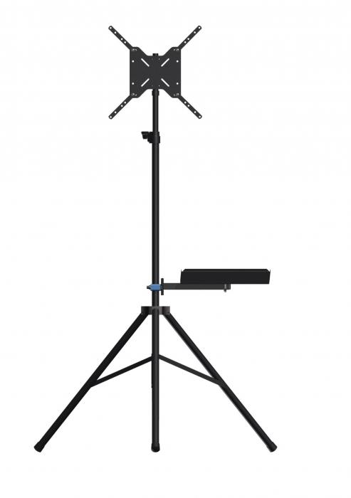 "Tripé com Bandeja para TV LCD, LED, 3D 19"" a 60"" SS-180BJ"