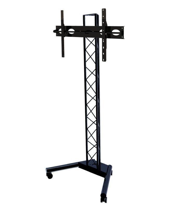 """Locação de Pedestal para TV LCD, LED, New Plasma, CURVA,  3D 32"""" a 52"""""""