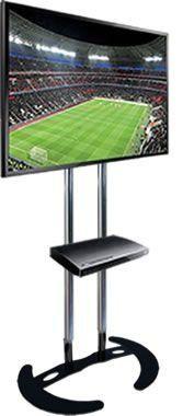 """Locação de Pedestal para TV LCD, LED, Plasma, 3D  32"""" a 65"""""""