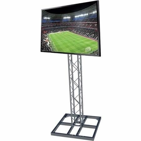 """Locação Estrutura Q20 com Suporte para TV de 19"""" a 65"""" SS-Q20TV"""