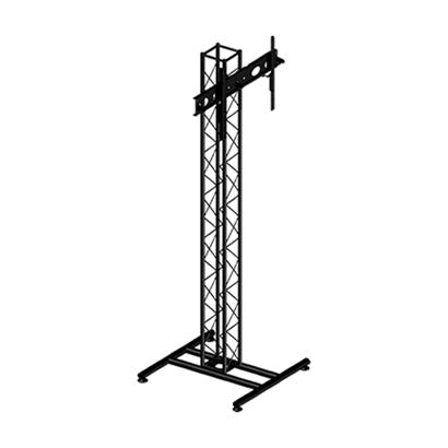 """Locação Pedestal em Torre Treliçada para TV 27"""" a 65"""" SS-1520"""