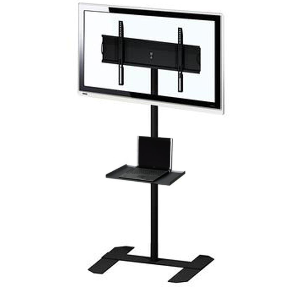 Pedestal TV com Rodas e Bandeja 32' a 65' SS-10RB