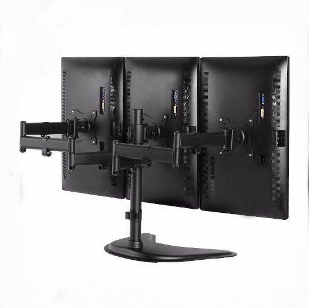 """Suporte para 3 Monitores de 13"""" a 27"""" SS-1236"""