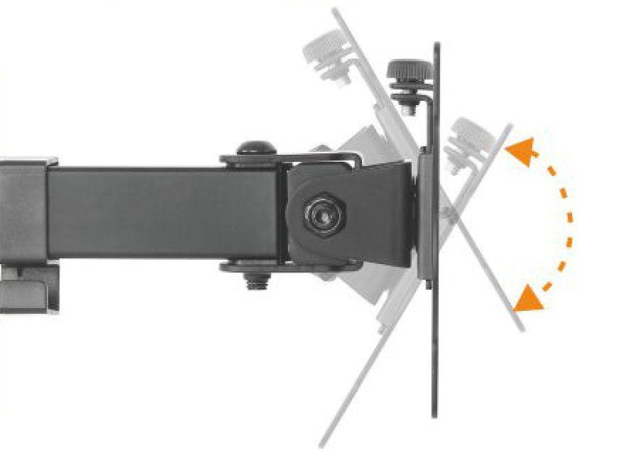 "Suporte Articulado para 2 Monitores de 13"" a 27""  SS-1224"