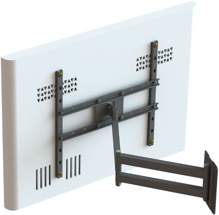 Suporte Articulado para TV LCD, LED, Plasma, 3D de 10