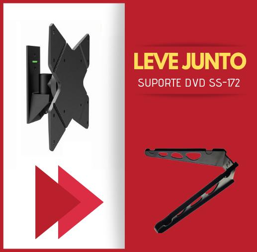 """Suporte Articulado para TV LED, LCD, 3D de 10"""" a 42"""" SS-1220"""