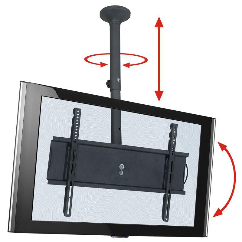 "Suporte de Teto TV LCD, LED, Plasma de 26"" a 65"" SS-PRO M"