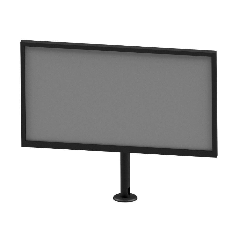"""Suporte inclinável para TV, com  giro de 360° LCD, LED, Plasma, 4K e Curva, até 55""""  SS-730TMG"""