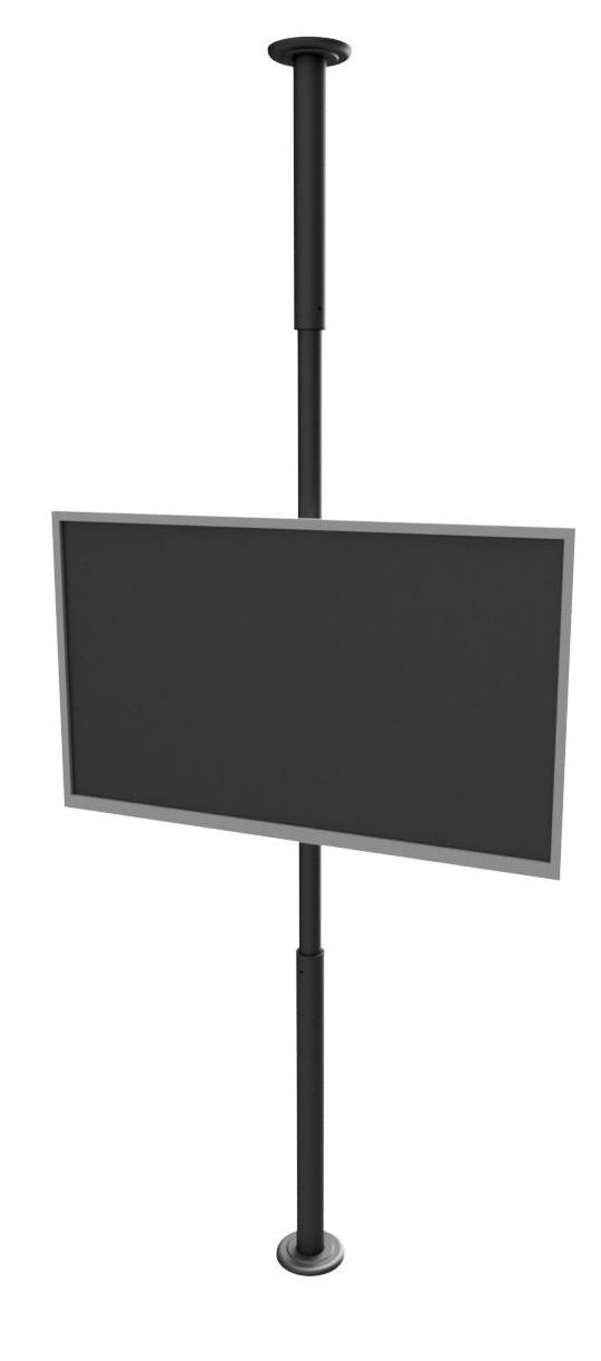 """Suporte Teto ao Chão para TV LCD, LED, Plasma 10"""" a 55"""" SS-3000"""