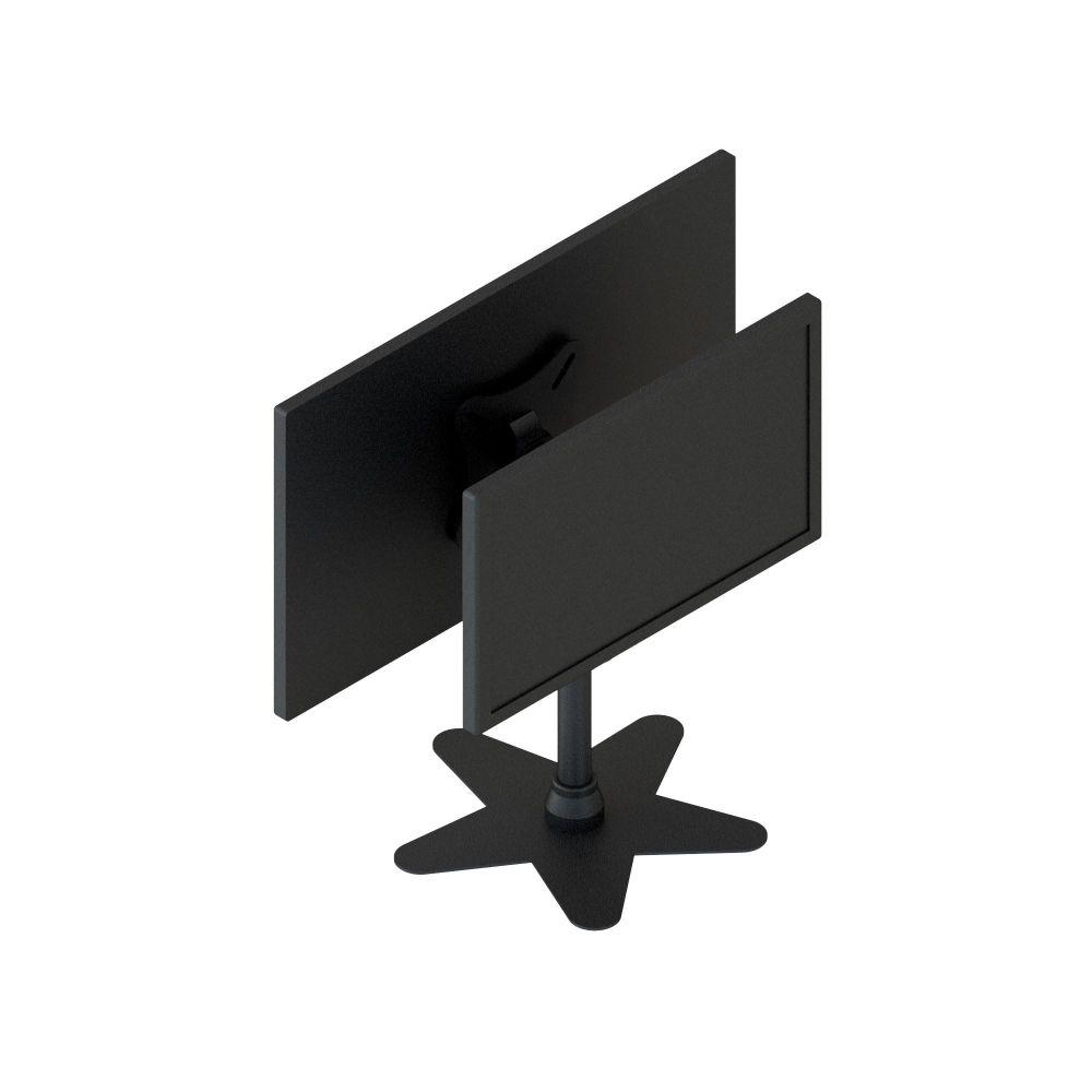 """Suporte Duplo com Rotação para Monitor LCD, LED 10"""" a 23"""" SS-2023SF"""