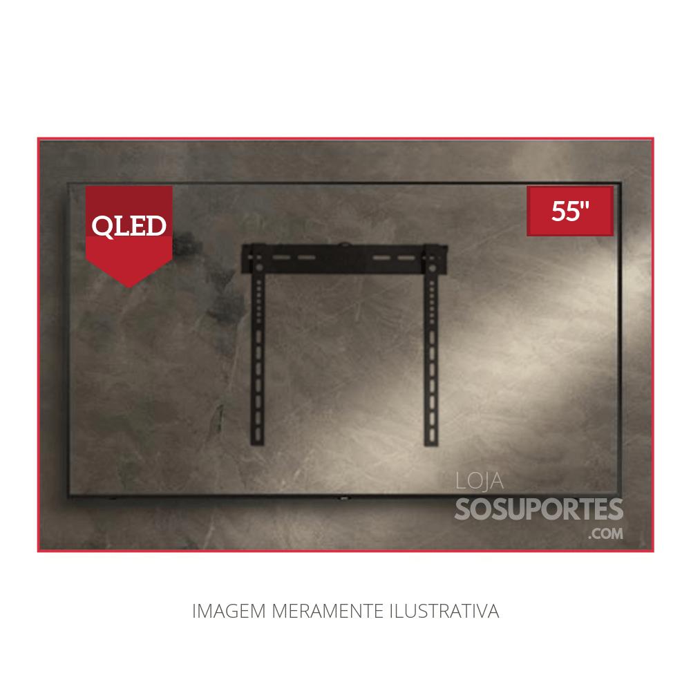 """Suporte Fixo  para TV QLED, LCD, LED de 32"""" a 55"""" SS-644"""