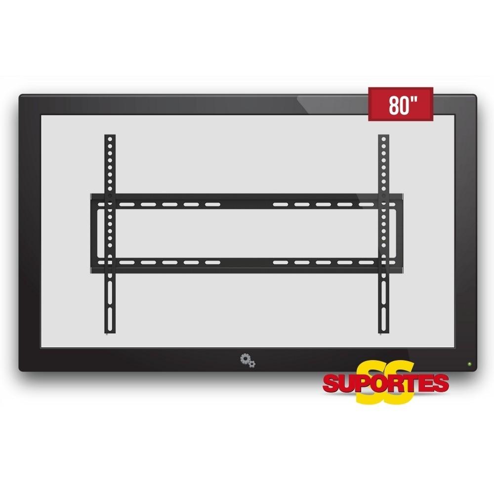 Suporte para TV QLED Fixo 32' a 80' SS-61