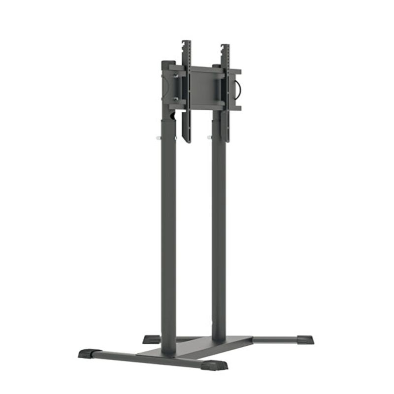 Suporte Pedestal com Rodas e Ajuste de Altura para TV de 32″ a 70″ SS-T2RD
