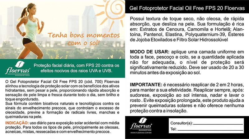 Postal Gel Fotoprotetor FPS20