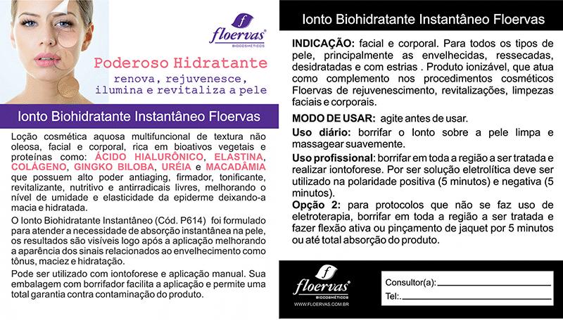 Postal Ionto Biohidratante