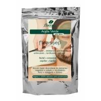 Cód. P636 - Argila Verde Vegana 100% natural (Ação Detox) - 500g
