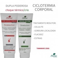 Kit Ciclotermia Corporal - Floreduction 250g