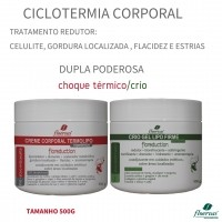 Kit Ciclotermia Corporal - Floreduction 500g