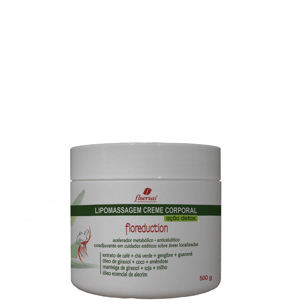 Cód. 791 - Lipomassagem Creme Corporal Ação Detox - 500g