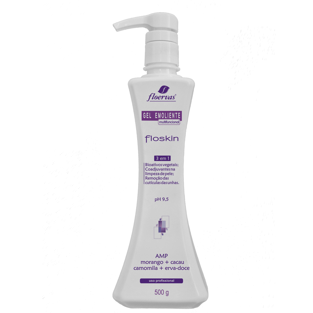 Cód. P615 - Gel Emoliente 3 em 1 (para pele e unhas) - 500 g